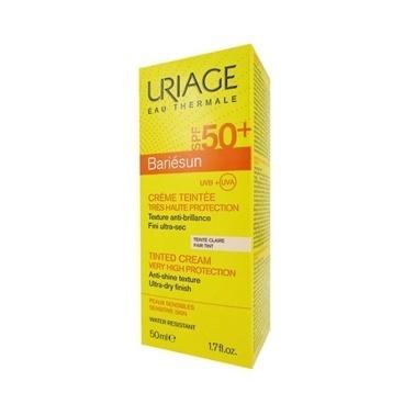 Uriage URIAGE Bariesun SPF50+ Tinted Cream Fair Tint 50 ml - Açık Ton Renksiz